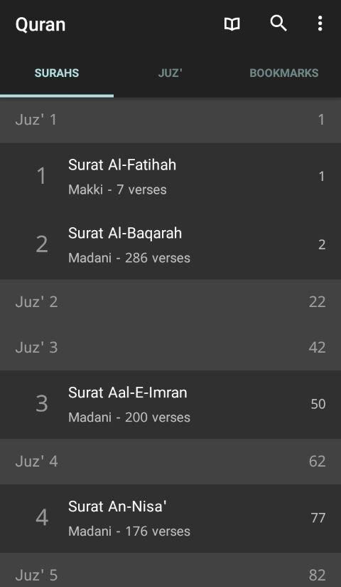 Quran Android v.2.7.1 Apk ( 2,3 MB ) | Oke Review