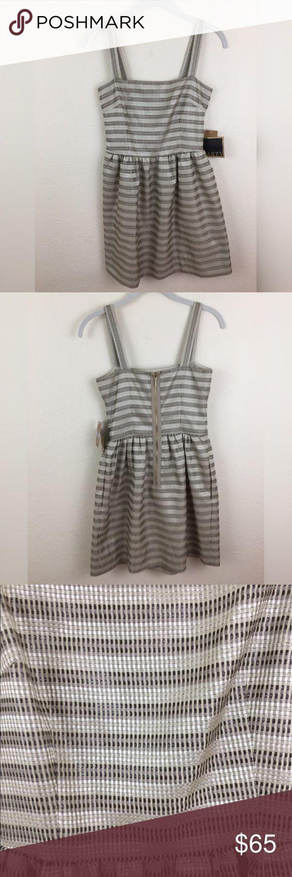 "RACHEL Rachel Roy Sleeveless Metallic Party Dress Brand new with tags. Comes from a smoke free home. 90% Polyester, 10% Metallic.                                      Armpit to Armpit - 14 3/4"".                                                      Bust - 29 1/2"".                                                                           Length - 31 3/4"" RACHEL Rachel Roy Dresses"