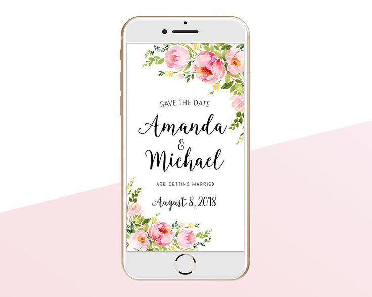 The 25 best Electronic save the date ideas – Email Wedding Save the Date