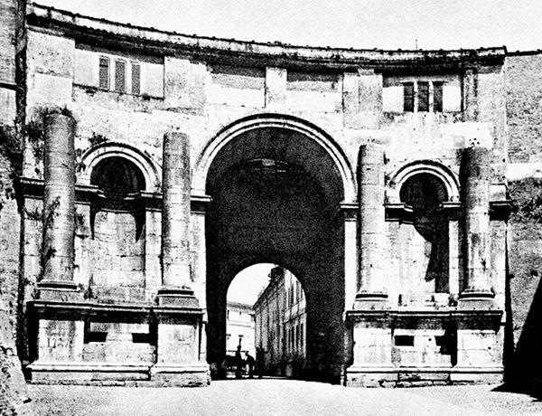 Roma, Porta di Santo Spirito,  Antonio da Sangallo