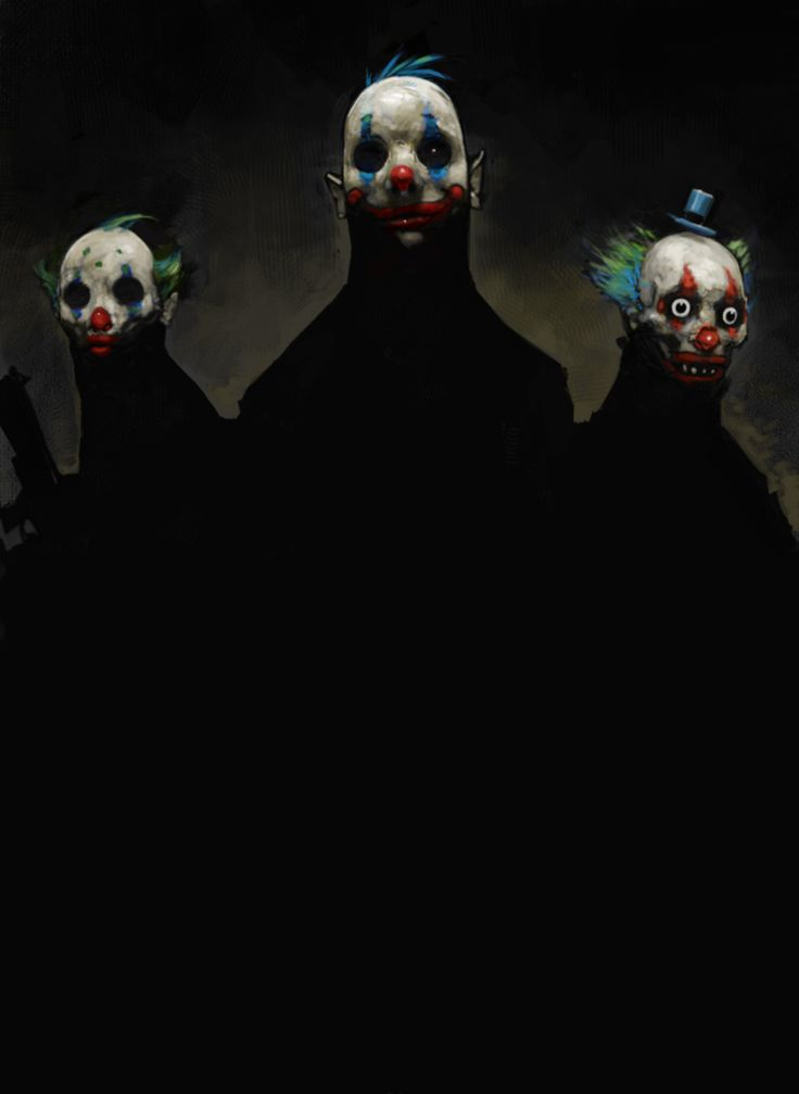 Never-seen Dark Knight concept art reveals the terrifying origins of the Joker's Clown Gang