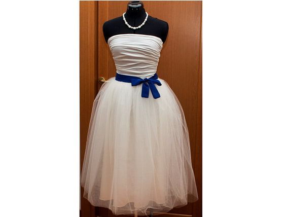 50s tulle skirt/ tea length adult tulle tutu skirt/ Prom, bridal, bridesmaid, formal tulle tutu crinoline skirt - MADE TO ORDER