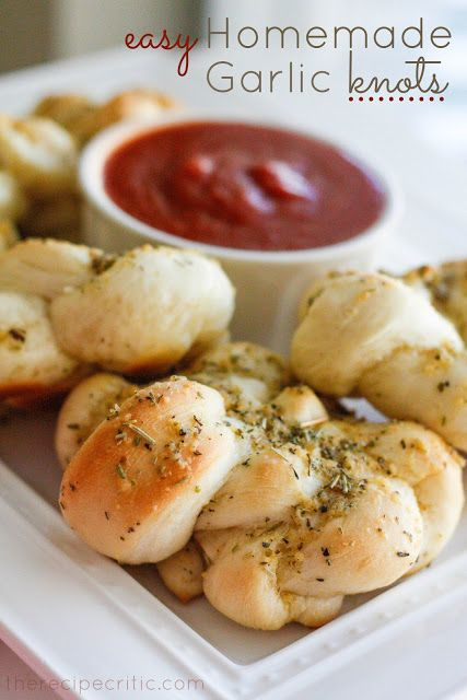 Easy Homemade Garlic Knots | The Recipe Critic, would be good for a dinner party as a bring along, food