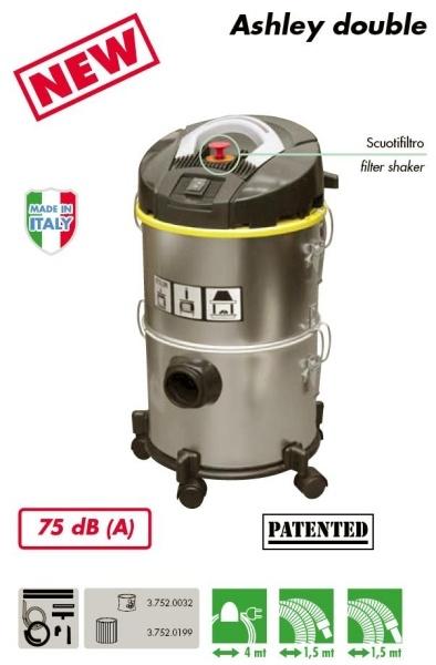 ASPIRACENERE / ASPIRAPOLVERE / ASPIRALIQUIDI ASHLEY DOUBLE - 1200W