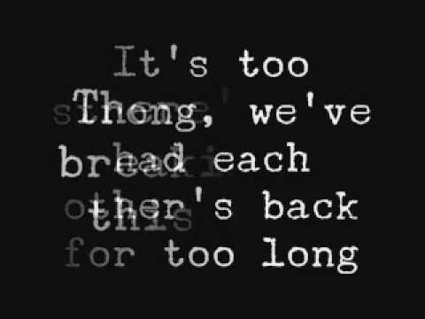 All In - Lifehouse Lyrics...Love me some Lifehouse! :)