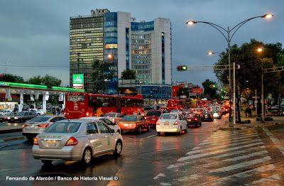 Hora pico. / Rush hour.