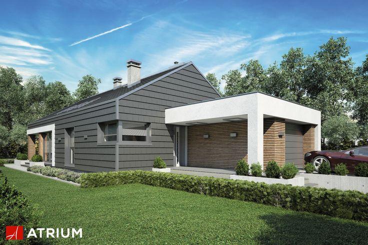 Projekt Pelikan Slim III - elewacja domu