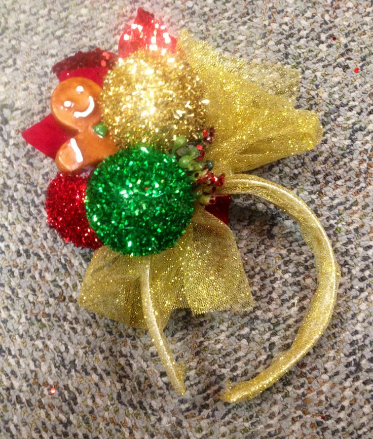 DIY Christmas Headband