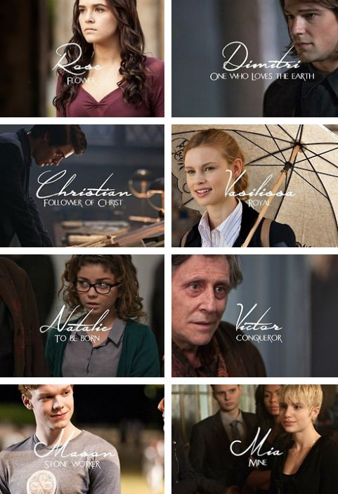 Vampire Academy + Name Meanings