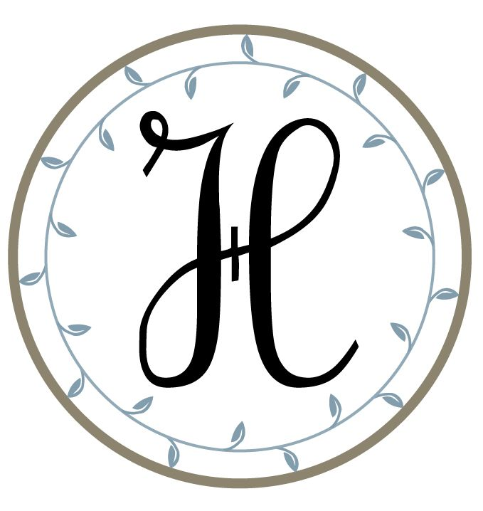 letter h free printable monograms from the hand me down house great for bottle