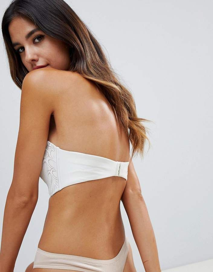 Wonderbra refined glamour ultimate strapless lace bra a - g