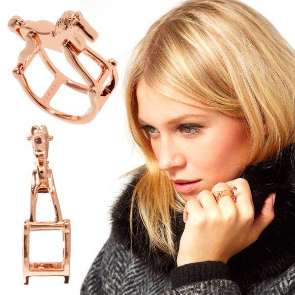 Ted Baker - Rocking Horse ring, anello cavallo a dondolo