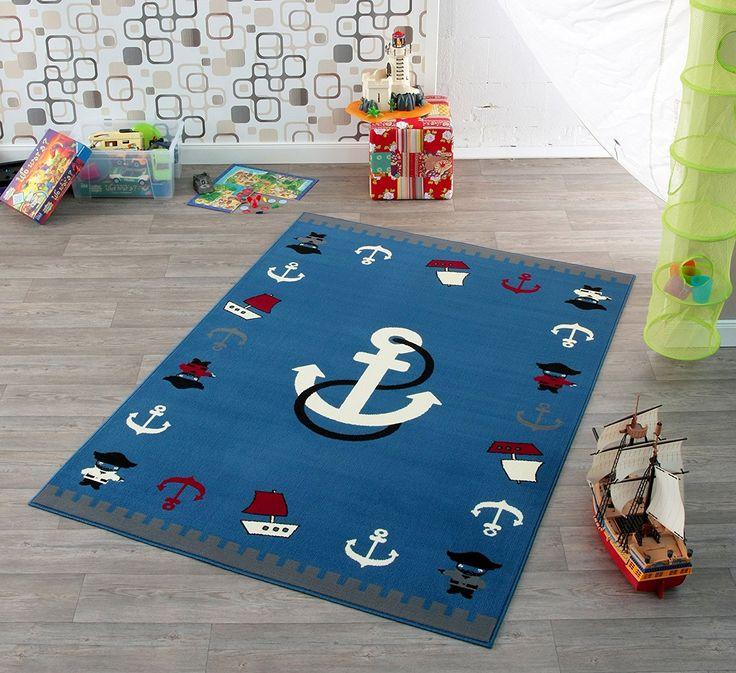 Amazing Piraten Teppich f r das kinderzimmer Piratenzimmer kinderzimmerideen