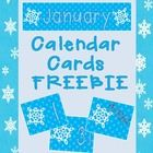 """This freebie includes calendar numbers 1-31 as well as a """"No School"""", """"Early Dismissal"""", and """"January"""" month label card. These cards would be great..."""