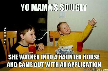 My favorite yo mama joke from years ago