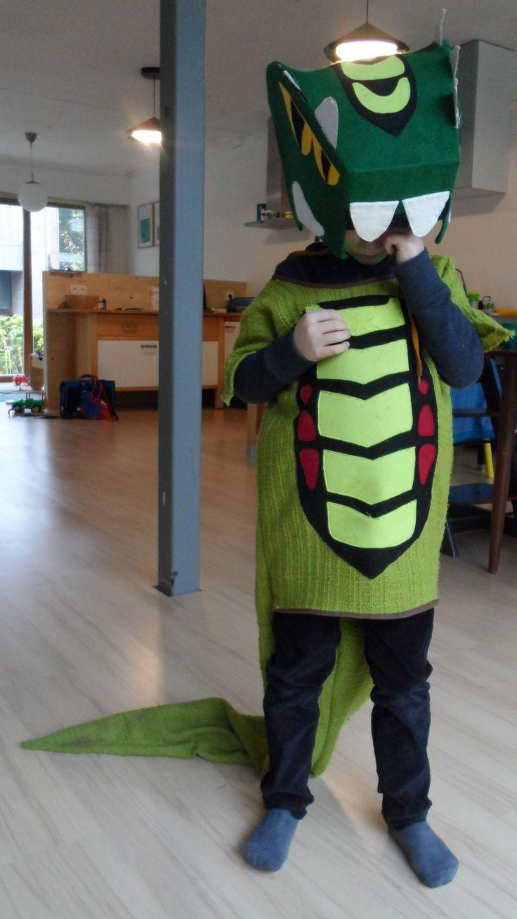 Lego Ninjago Snakes Acidicus Costume For Kids Homemade