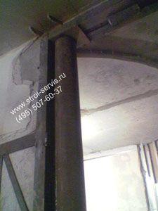 Расширенная несущая стена со сложным усилением. А горячекатаные профили имеют некоторые недостатки. д. Визуально гнутый швеллер можно отличить от горячекатаного при помощи скругленного внешнего угла.