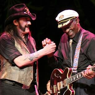 Lemmy Kilmister & Chuck Berry- shut up! cant beleive this duo :-)
