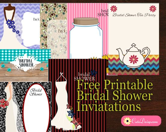 On this site you will find a lot of free printables such as planner printables, stickers and free printable bridal shower invitations.