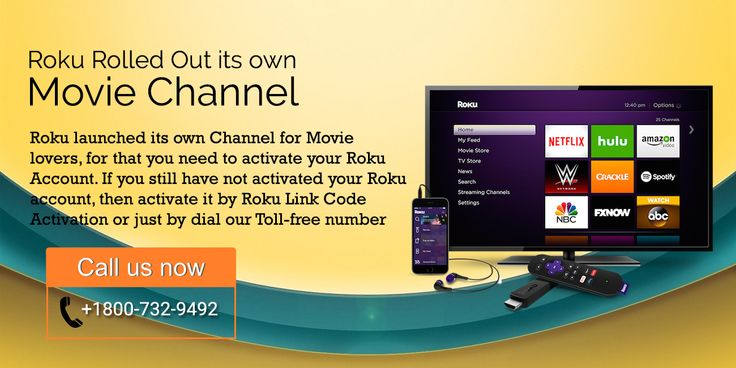Visit our website to know more About Roku's New movie channel. Or call us @ 1800-723-9492.
