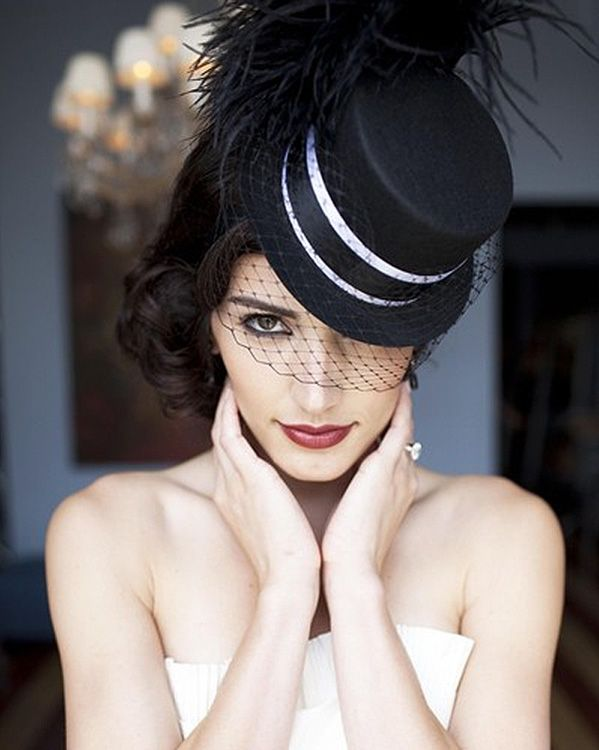 25 best two brides images on pinterest two brides mermaid wedding wedding hat for women fandeluxe Gallery