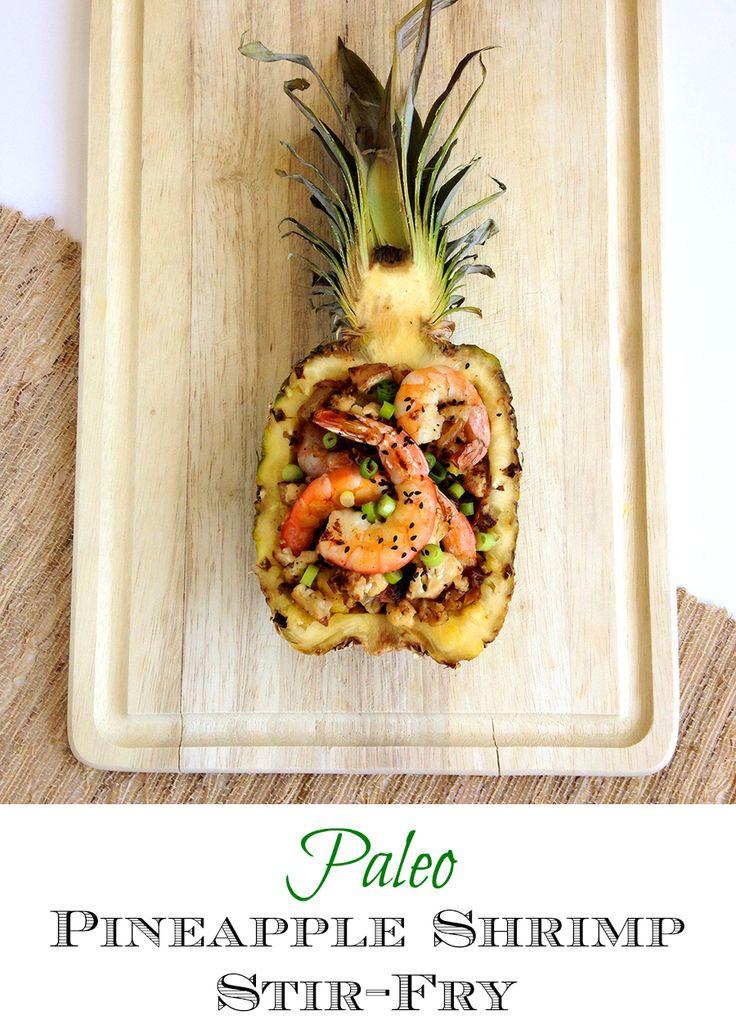 Paleo Pineapple Stir Fry | GrokGrub.com