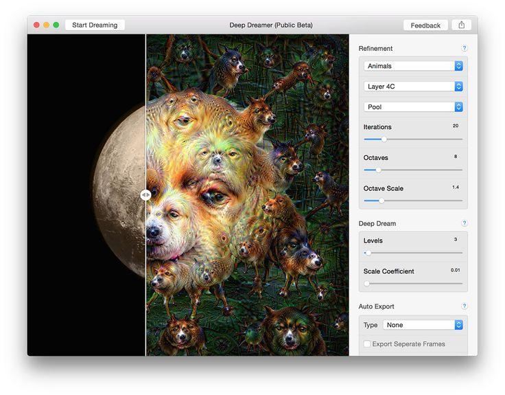 Deep Dreamer for Mac UI