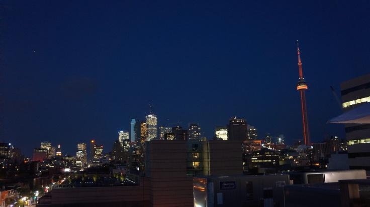 Toronto during TIFF