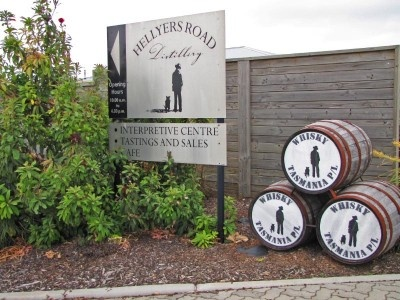 Hellyers Road Whisky Distillery.  Great place for lunch!