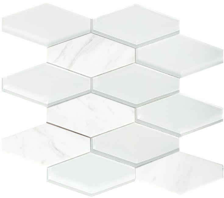 Las 25 mejores ideas sobre mosaico hexagonal en pinterest for Espejo hexagonal ikea