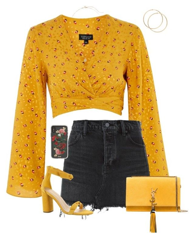 """""""Under you"""" by abbyharshman8 on Polyvore featuring Topshop, Alexander Wang, Sonix, BCBGeneration and Yves Saint Laurent"""