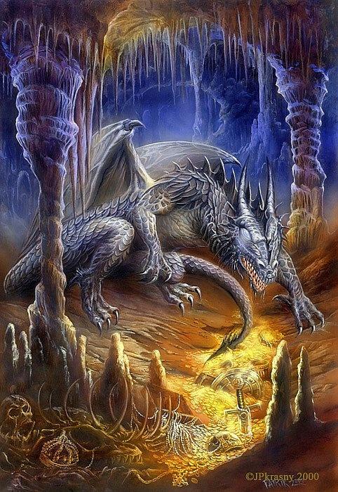 Cave Dragon by Jan Patrik Krasny