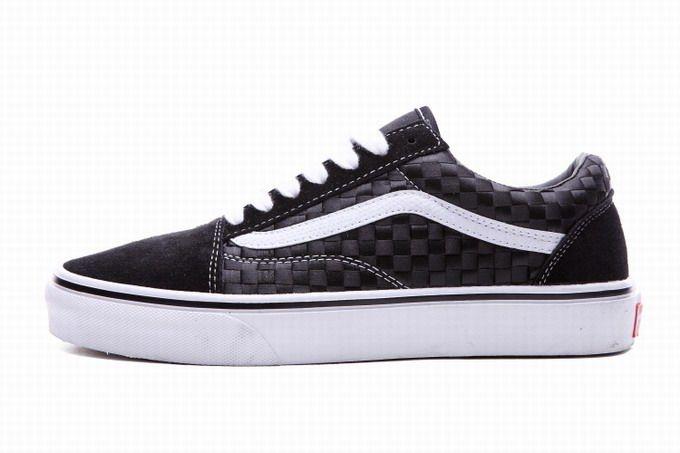 0f77eb1612ab3f Vans Old Skool Shawn Yue Black White Weave Womens Shoes  Vans ...