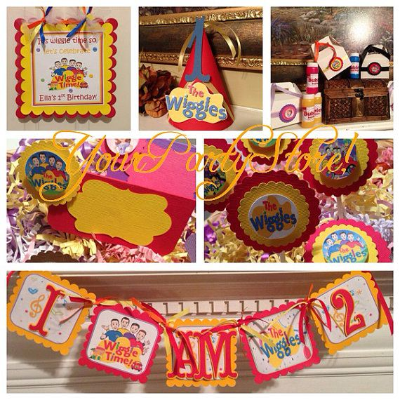 The WIGGLES Party PACKAGE by YourPartyStore on Etsy, $50.00