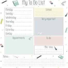 Get your week organised! | Blog