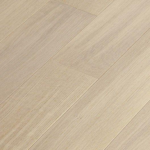 parquet contrecoll artens largeur l ch ne blanchi bross vitrifi sols int rieurs. Black Bedroom Furniture Sets. Home Design Ideas