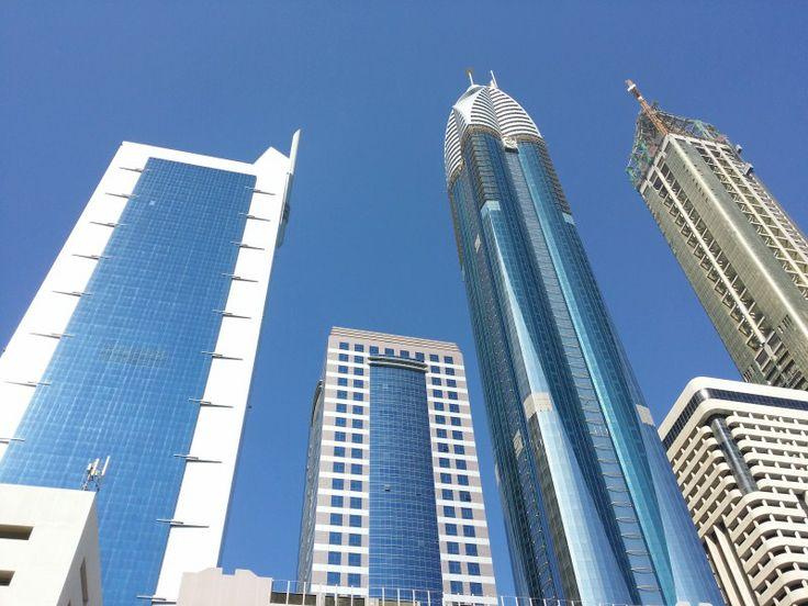 Rascacielos del conjunto financiero