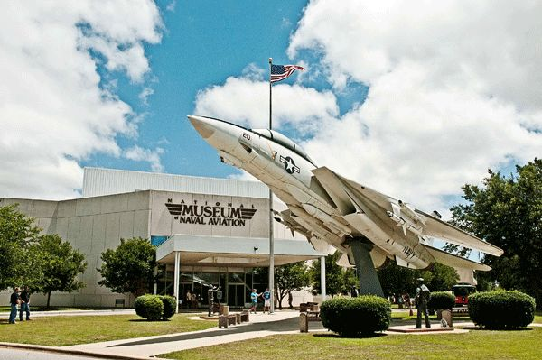 National Naval Aviation Museum in Pensacola, Florida