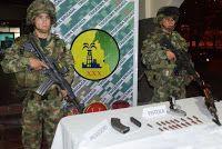 """Noticias de Cúcuta: Incautado material de guerra, perteneciente al """"Cl..."""