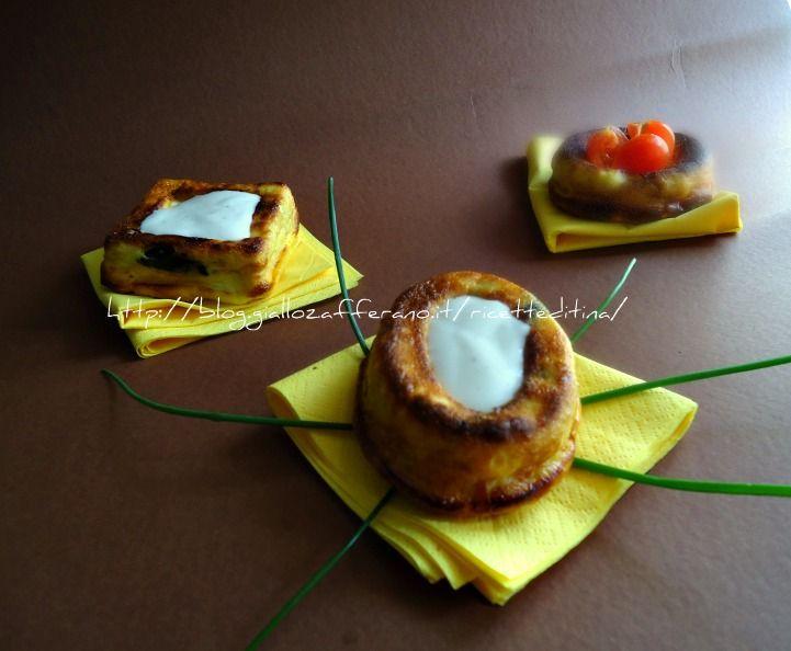 sformatini di zucchine le ricette di tina