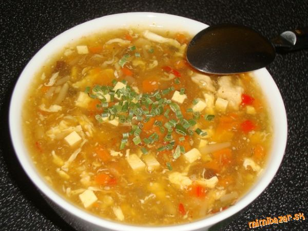Ostrokysla polievka po slovensky (z u nas dostupnych surovin)