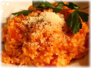 Recipe of the Week - Tomato & Parmesan Risotto. A perfect risotto any Italian would be impressed by. Cooked in 23 minutes and almost hands-free. Serve as a main course or as a side dish with fish or chicken.