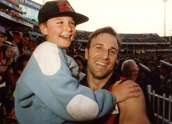 Tim and Jobe Watson. Two champions of the game.