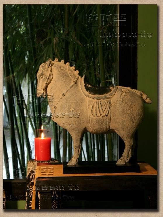 Новый китайский / античный / мебель / смола ремесла / моды творческие / декоративные украшения лошадь / антикварные украшения - Taobao