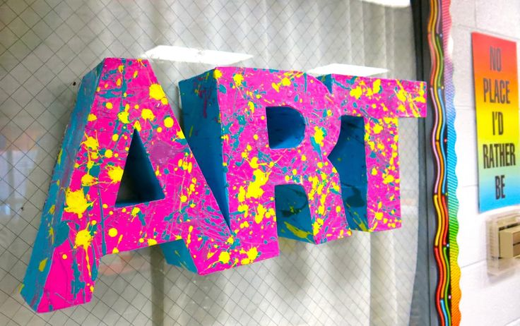 Art club primary school display