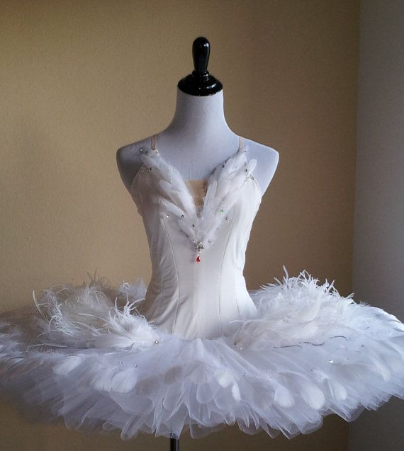 Ballet Costume Swan Lake Odette Tutu by MadameAria on Etsy