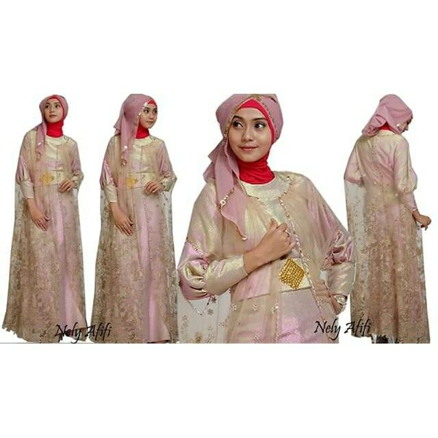 Gown for muslimah,  muslimah fashion,  made by order