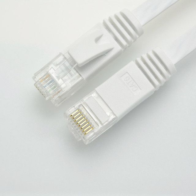 1.6ft 0.5m CAT6 Ethernet cable flat UTP CAT6 network cable Gigabit Ethernet Patch Cord RJ45 network twisted pair GigE Lan cable
