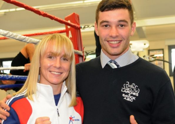 Boxer Lisa Whiteside is set for a major test of her credentials this week when she represents Team GB in an international tournament.