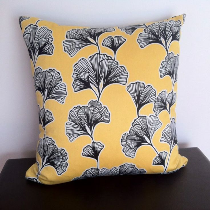 Picture of Yellow Florence Cushion Cover from Chair Revival Unique Melbourne Feature Furniture